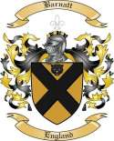 Barnatt Family Crest from England