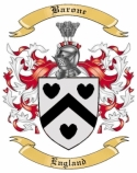 Barone Family Crest from England