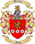 Barone Family Crest from Italy