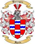 Barragan Family Crest from Spain