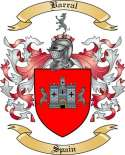Barral Family Coat of Arms from Spain