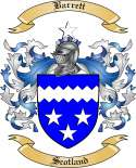 Barrett Family Coat of Arms from Scotland