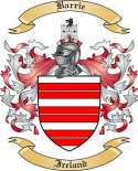Barrie Family Coat of Arms from Ireland