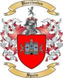Barrientos Family Coat of Arms from Spain