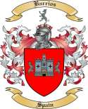 Barrios Family Crest from Spain