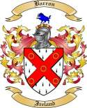 Barron Family Coat of Arms from Ireland