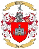 Barros Family Coat of Arms from Spain