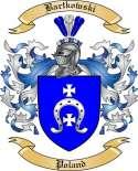 Bartkowski Family Crest from Poland