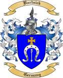 Bartnick Family Crest from Germany