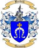 Bartnik Family Crest from Germany