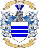 Basello Family Crest from Italy