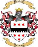 Basinger Family Crest from Germany