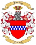 Basken Family Coat of Arms from Ireland