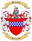 Baskin Family Coat of Arms from Scotland
