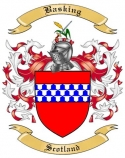 Basking Family Coat of Arms from Scotland