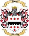 Basse Family Coat of Arms from Germany