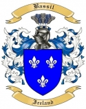 Bassil Family Coat of Arms from Ireland