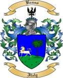 Basso Family Coat of Arms from Italy