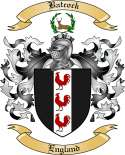 Batcock Family Coat of Arms from England