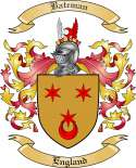 Bateman Family Coat of Arms from Scotland