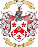 Bates Family Coat of Arms from England