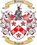 Bateson Family Crest from England