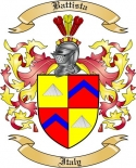 Battista Family Coat of Arms from Italy2