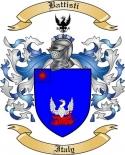 Battisti Family Crest from Italy