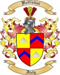 Battistini Family Crest from Italy2
