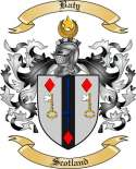 Baty Family Crest from Scotland