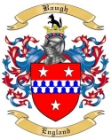 Baugh Family Coat of Arms from England