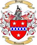 Baugh Family Coat of Arms from Germany2