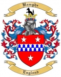 Baughe Family Crest from England