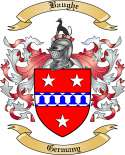 Baughe Family Crest from Germany
