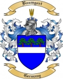 Baumgart Family Crest from Germany2