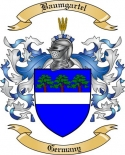 Baumgartel Family Crest from Germany2