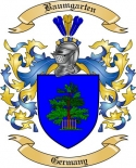 Baumgarten Family Crest from Germany