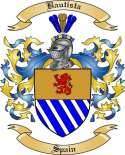 Bautista Family Coat of Arms from Spain