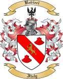 Bavieri Family Crest from Italy