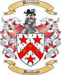Baxstair Family Coat of Arms from Scotland