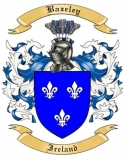 Bazeley Family Crest from Ireland