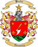 Bealer Family Coat of Arms from Germany