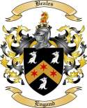 Beales Family Crest from England