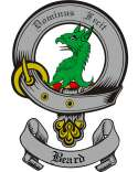 Beard Family Crest from Scotland2