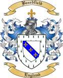 Beardfield Family Crest from England