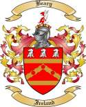 Beary Family Crest from Ireland