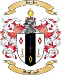 Beatie Family Crest from Scotland