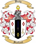 Beaty Family Coat of Arms from Scotland