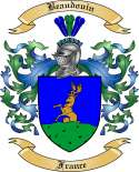 Beaudouin Family Coat of Arms from France