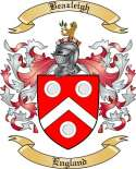 Beazleigh Family Coat of Arms from England